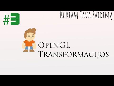 #3 OpenGL transformacijos