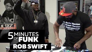 Rob Swift   #5MinutesOfFunk005   #TurntableTuesday97