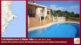 preview picture of video '2 Schlafzimmern 2 Bäder Villa zu verkaufen in Villa, Alfaz Del Pi, Spain'