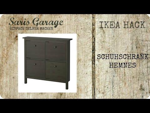 IKEA Hack | Schuhschrank | Kommode | Regal | Upcycling | DIY | Hemnes IKEA | How to | Anleitung