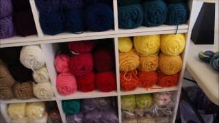 Yarn Talk #59 My Craft Room Tour
