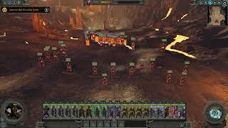 Total War: Warhammer II Destroyer battle with the Dark Elves