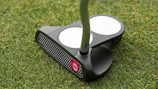 Odyssey O-Works Putters Featuring Microhinge Inserts
