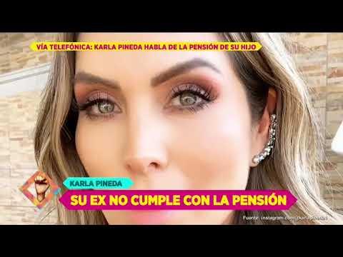 Aquivaldo Mosquera pide a Karla Pineda reducir el monto de la pensión | De Primera Mano