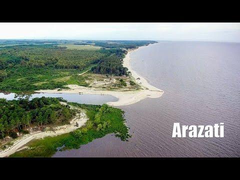 Balneario Arazati -  San José 4k Drone