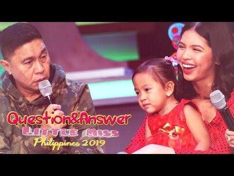 Little Miss Philippines 2019 - Question and Answer | July 8