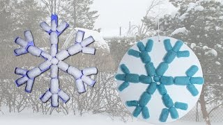 Nouilles magiques - Flocon de neige