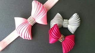 DIY Elegant Baby Bow Headband | Trending In Indonesia
