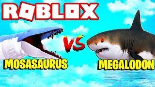 How To Bait A Shark Roblox Sharkbite Mosasaurus Vs Megalodon Shark Roblox Sharkbite New Update Minecraftvideos Tv