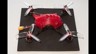 Razor X125 2.5'' - гоночный мини квадрокоптер. Обзор и полеты
