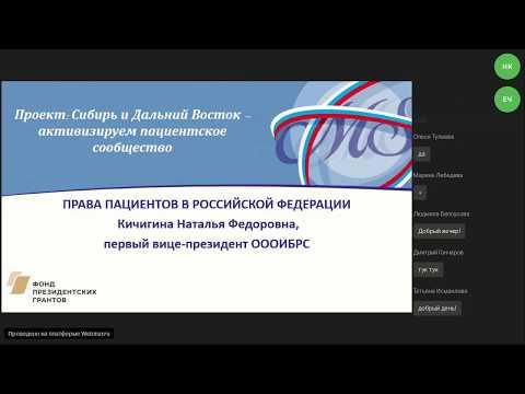 Права пациентов в РФ