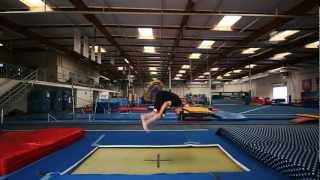 Trampoline Tutorials - How To Front Flip (+the basics)