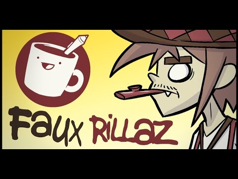 Drawing the Worst Cartoon Band (Knock-Off Gorillaz)