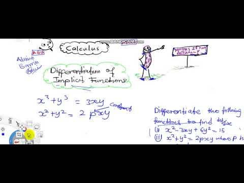 Differentiation of Implicit Functions1 Intro 1 Further Mathematics for WASSCE Calculus