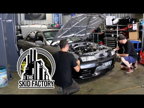 THE SKID FACTORY - Turbo LS1 R32 Skyline [EP8] - Thủ thuật
