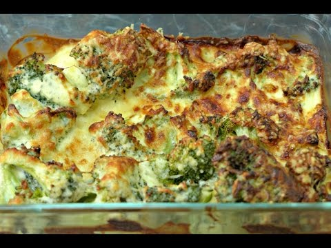 Video Broccoli Casserole Recipe - Easy, Cheesy & Only 4 Ingredients!