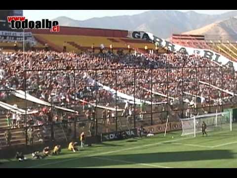 """""""Garra Blanca - Yo al albo lo quiero"""" Barra: Garra Blanca • Club: Colo-Colo"""