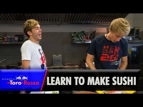 Pierre and Brendon Learn How To Make Sushi
