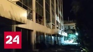В пригороде Афин прогремел мощный взрыв - Россия 24