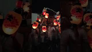 2018年日本三大提灯祭り・白河