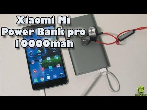 Mi Powerbank Pro de 10000mAh con USB Type-C y carga rápida / Desempaquetado y análisis