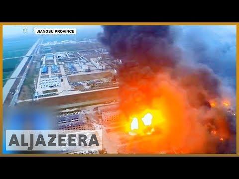 🇨🇳 Blast at Chinese chemical plant kills 47, injures 640 l Al Jazeera English