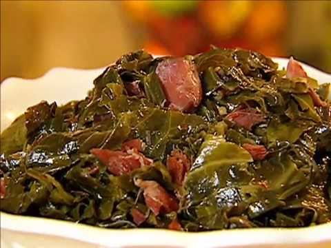 Mashed Potatoes and Collard Greens