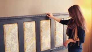 Make An Upholstered Headboard -- Buildipedia DIY