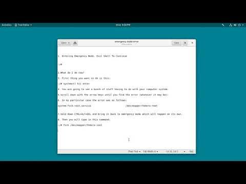 mp4 Linux Ubuntu Emergency Mode, download Linux Ubuntu Emergency Mode video klip Linux Ubuntu Emergency Mode
