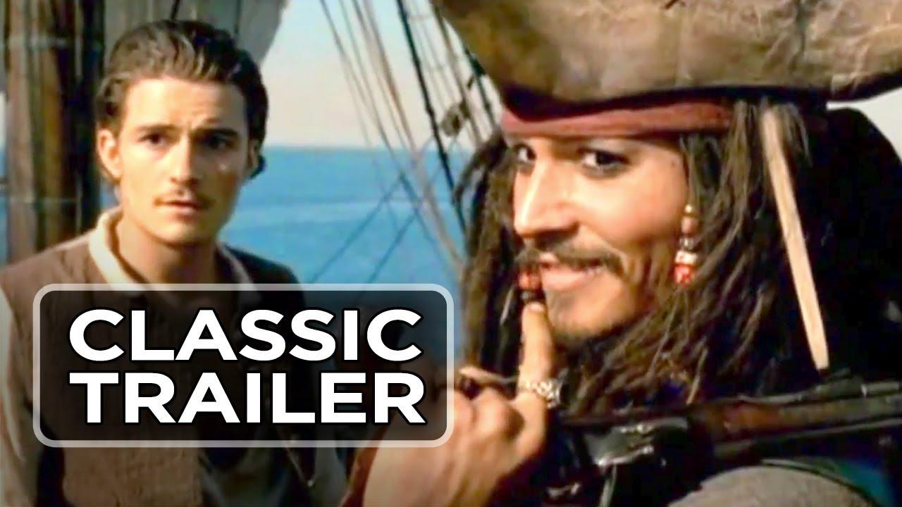 Trailer för Pirates of the Caribbean: Svarta Pärlans förbannelse