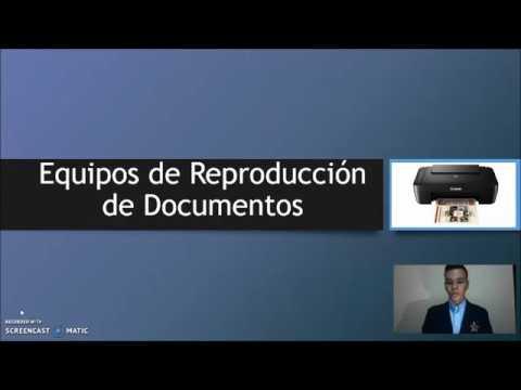 Equipos de Reproducción de Documentos