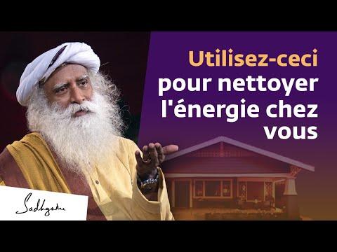 Comment purifier l'énergie chez soi ? | Sadhguru Français Comment purifier l'énergie chez soi ? | Sadhguru Français