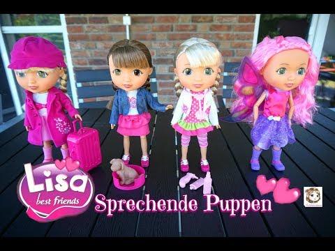 LISA BEST FRIENDS  ❤️  Deine neue BFF ❤️ Interaktive Puppen die sprechen + VERLOSUNG | Bayer Design