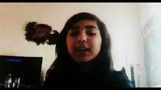 Gaby sings 'Heart for sale' by Christina Perri'.