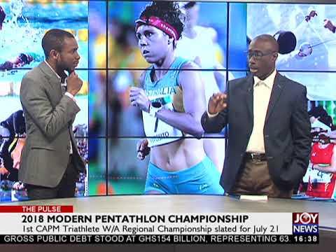 2018 Modern Pentathlon Championship - The Pulse On JoyNews (19-7-18)