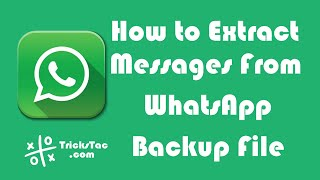 How to recover whatsapp messages if you have deleted