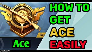 HOW TO REACH ACE IN PUBG MOBILE🔥ACE RANKPUSH TIPS & TRICKS🔥EASY WAY TO GET ACE TITLE IN PUBG MOBILE