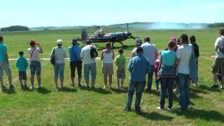 preview picture of video 'Dětský Den, Aeroklub Toužim, 2012'