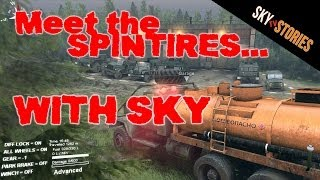 preview picture of video 'Spintires #1 - Gameplay with Sky'
