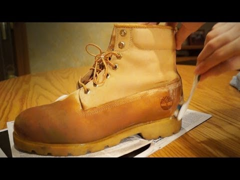 How to Clean and Restore Timberlands!! Make Suede Boots Sexy! DIY