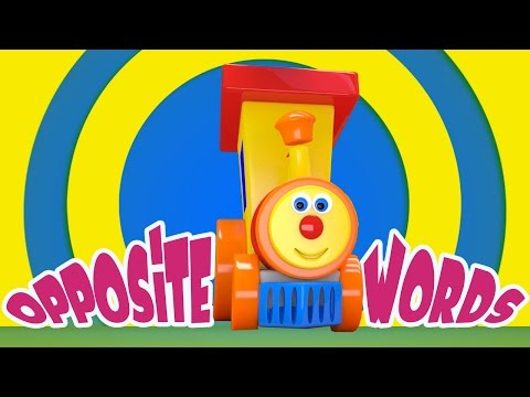 Nursery Rhymes By Kids Baby Club - Ben The Train | Ben Meets The Opposite Words | Opposites Song