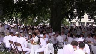 preview picture of video 'Le Dîner en Blanc - Darmstadt 2014'