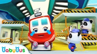 Baby Panda Repairs Super Train | Super Rescue Team | Monster Cars | Baby Cartoon | BabyBus