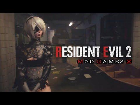 Resident Evil 3 Remake MOD: Nier Automata