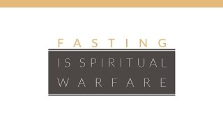 """Fasting is Spiritual Warfare"" with Jentezen Franklin"