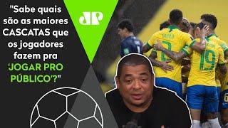 Vampeta dá show e revela quais são as maiores 'mentiras' do futebol