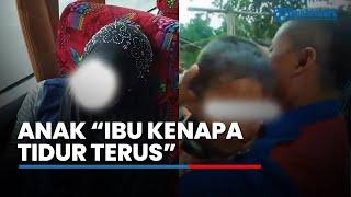 Ibunya Meninggal di Bus Primajasa, Anak Nurhayati Menangis Digendong Sopir: Mamah Kenapa Tidur Terus