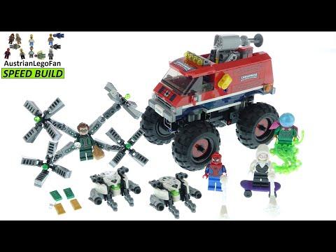 Vidéo LEGO Marvel 76174 : Le camion monstre de Spider-Man contre Mystério