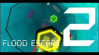 Dark Sci-Desert | Flood Escape 2 | [Insane] [Solo] [Testing Map]