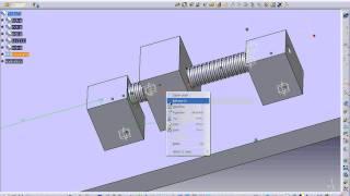 Video Mô phỏng trục vít và đai ốc hoạt động